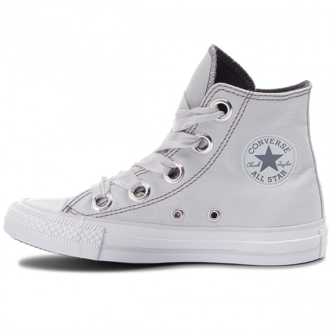Sportschuhe CONVERSE - Ctas Big Eyelets Hi 559918C Pure Platinum/Light Carbon
