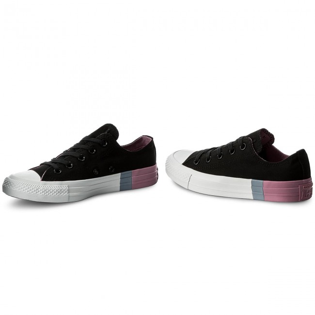 Sportschuhe CONVERSE - Ctas Ox 159521C Black/Light Orchid/White