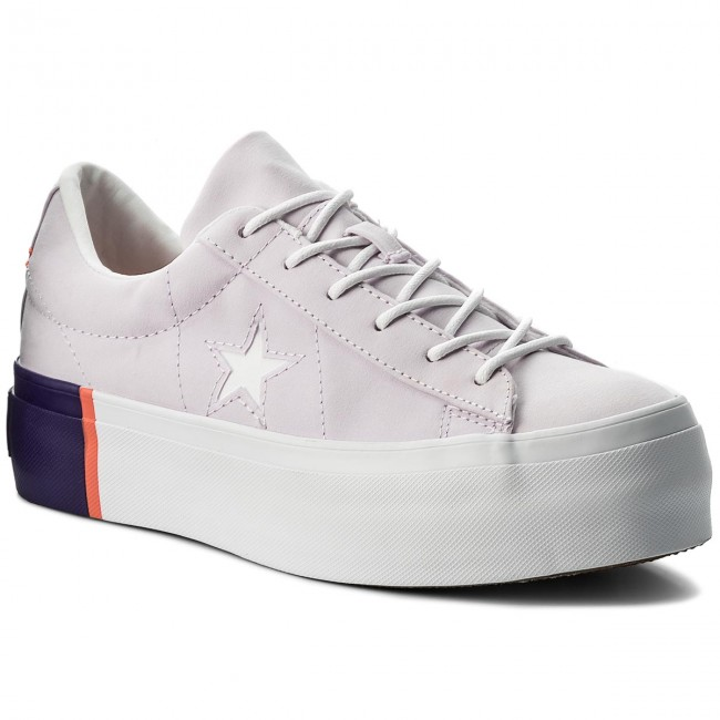 Sneakers CONVERSE                                                    One Star Platform Ox 559902C Barely Grape/Rush Coral/White