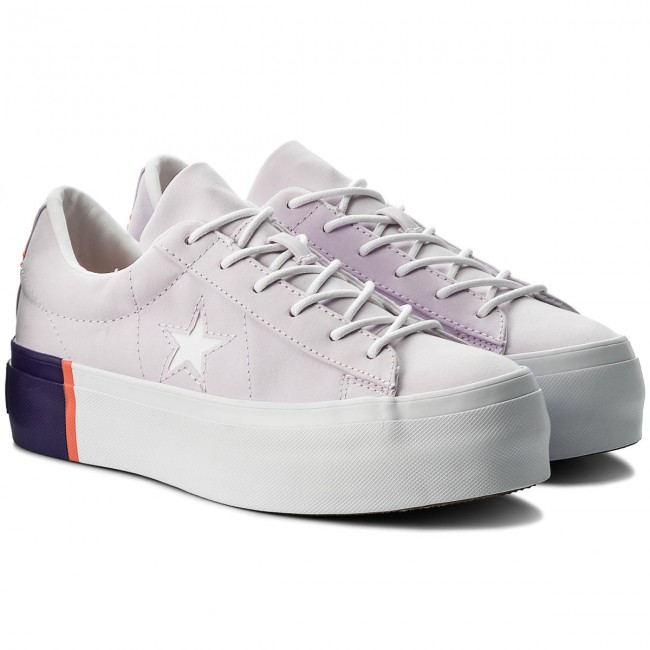Sneakers  CONVERSE     Sneakers                                                One Star Platform Ox 559902C Barely Grape/Rush Coral/Weiß 702ba7