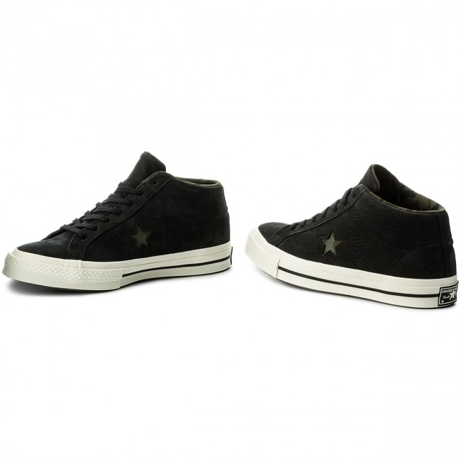Sneakers CONVERSE-One Star Mid 159747C 159747C Mid schwarz/Gret/Herbal e0b3ad