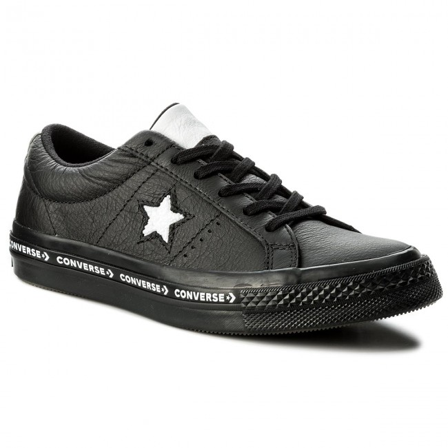 Sneakers CONVERSE                                                    One Star Ox 159721C Black/White/Black
