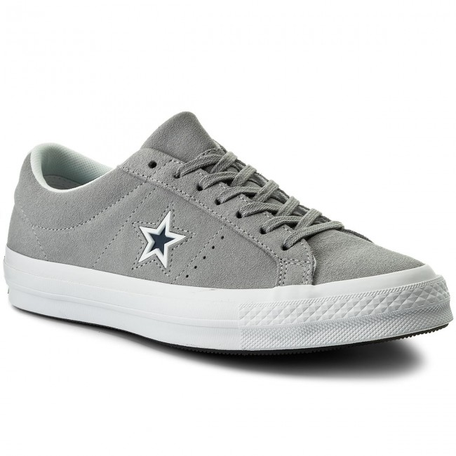 Turnschuhe CONVERSE-One Star Ox 159733C  Wolf Grey/White/Navy