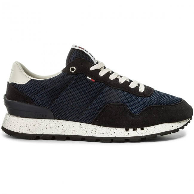 Sneakers TOMMY 006 JEANS-Lifestyle Sneaker EM0EM00041 Ink 006 TOMMY 4c4d6e