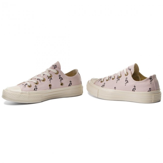 Sportschuhe CONVERSE-Ctas 70 Barely Ox 160506C Barely 70 Rose/Almost Black/Egret Werbe Schuhe 014693