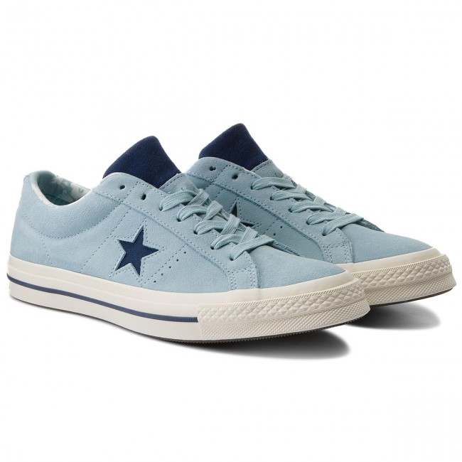 Turnschuhe CONVERSE-One Ox Star Ox CONVERSE-One 160585C Ocean Bliss/Navy/Egret 557ad8