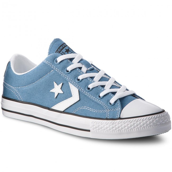 Sportschuhe CONVERSE-Star Player Ox 160556C Aegean Storm/White/Black