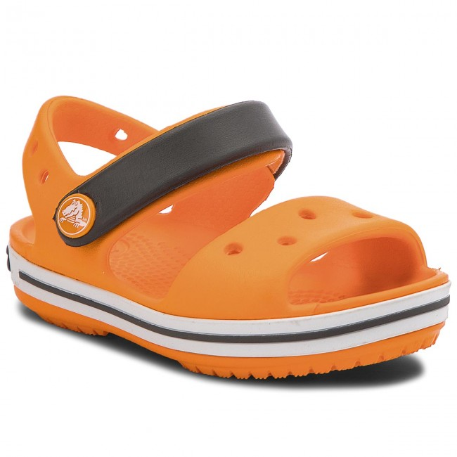 Sandalen CROCS - Crocband Sandal Kids 12856 Blazing Orange/Slate Grey MVlCdhp