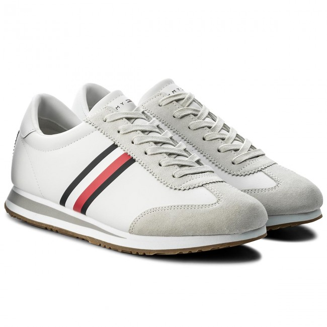Sneakers FM0FM01311 TOMMY HILFIGER-Core Corporate Sneaker FM0FM01311 Sneakers Weiß 100 253163