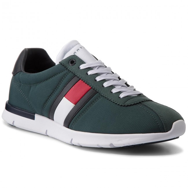 Sneakers TOMMY Green HILFIGER-Retro Lightweight TurnschuheFM0FM01329 Jungle Green TOMMY 300 2f01c9