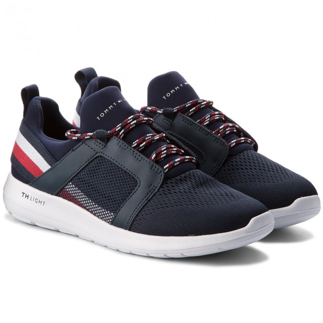 Sneakers 403 TOMMY HILFIGER-Technical Material Mix Sneaker FM0FM01345 Midnight 403 Sneakers 0cf94c