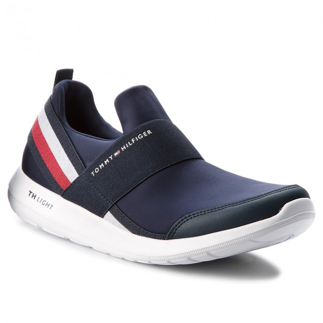 Sneakers TOMMY HILFIGER-Technical Elastic Slipon Sneaker FM0FM01346 Midnight 403