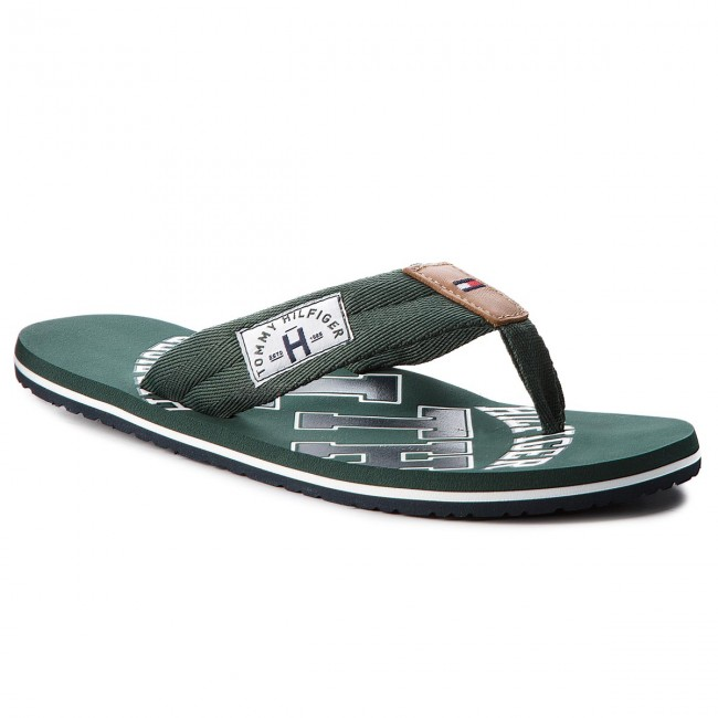 Zehentrenner TOMMY HILFIGER - Essential Th Beach Sandal FM0FM01369 Coffee Bean 212 C7hcoV1MV