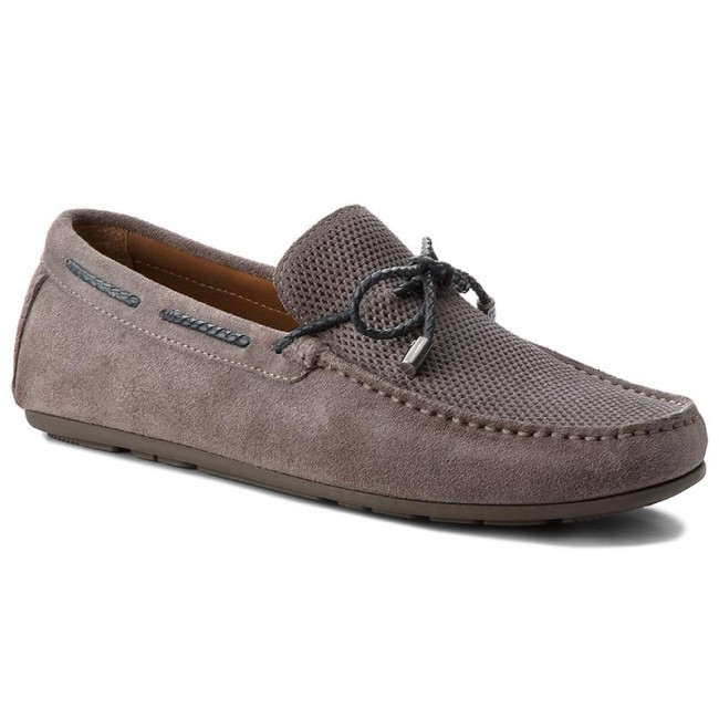 Mokassins TOMMY HILFIGER-Interlace Suede Loafer FM0FM01433 Steel Grey 039 039 039 07eb0d