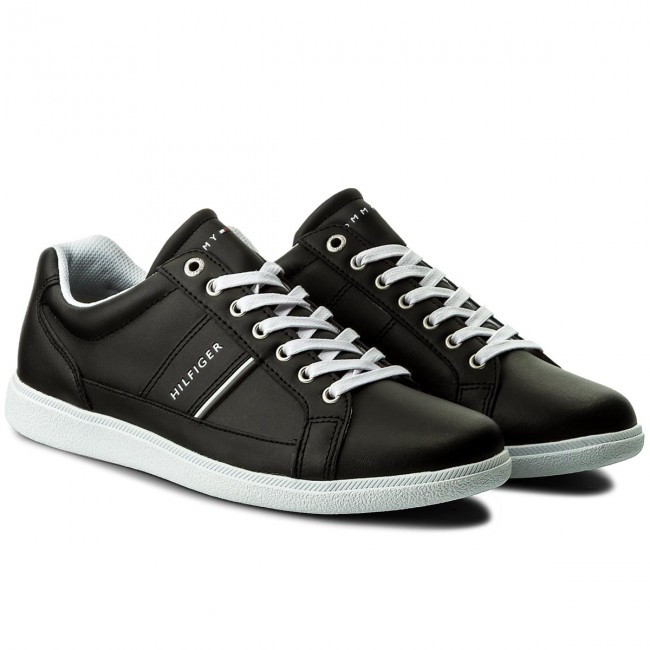 Sneakers TOMMY Black HILFIGER-Core Leather Cupsole FM0FM01478 Black TOMMY 990 012925