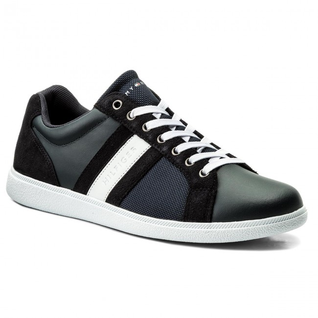 Sneakers Mix TOMMY HILFIGER-Core Material  Mix Sneakers Cupsole FM0FM01479 Midnight 403 f75e32