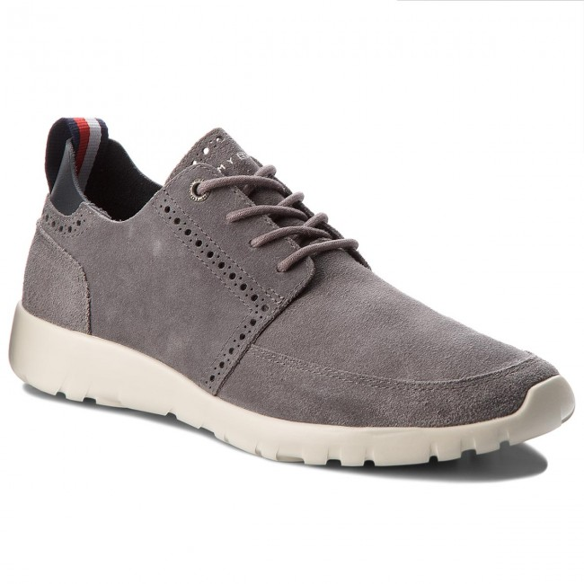 Sneakers TOMMY HILFIGER-Extra Lightweight City 039 Runner FM0FM01533 Steel Grau 039 City 824521