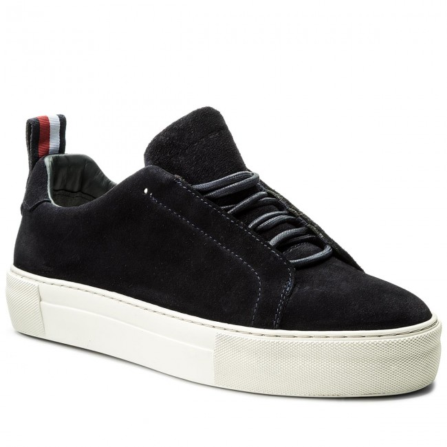 Sneakers TOMMY HILFIGER-Fashion Suede Cupsole FM0FM01537  Midnight 403