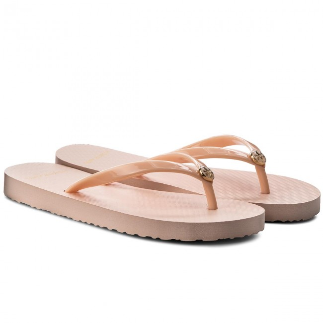 Zehentrenner TORY BURCH                                                    Solid Thin Flip Flop 47405 Perfect Blush 666