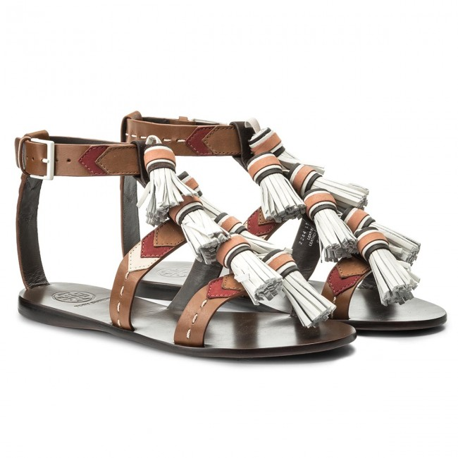 Sandalen TORY BURCH                                                      Weaver Tassel Sandale 51158685 Multi Tan/Light Almond 242 e2bea8