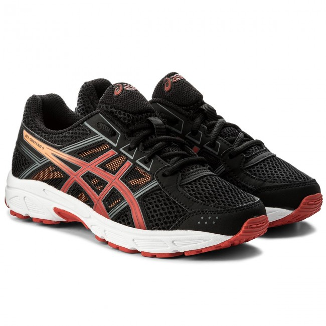 Schuhe ASICS                                                      Gel-Contend 4 Gs C707N schwarz/Fiery ROT/Shocking Orange 9023 b67f33