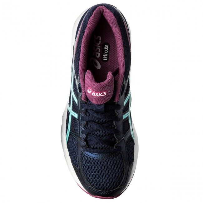 Schuhe ASICS  Gel-Contend Red 4 T765N Peacoat/Porcelain Blue/Fuchsia Red Gel-Contend 5814 97004e