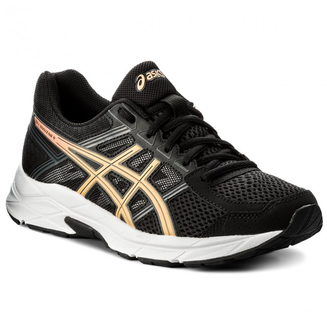 Schuhe ASICS                                                    Gel-Contend 4 T765N Black/Apricot Ice/Carbon 9095