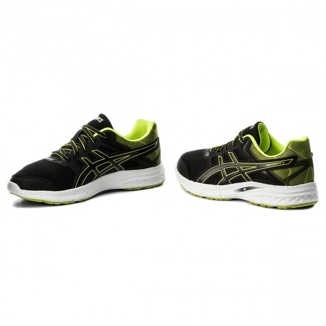 Schuhe ASICS-Gel-Excite T7F3N 5 T7F3N ASICS-Gel-Excite Black/Safety Yellow/Black 9007 6e837a