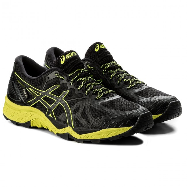 Schuhe ASICS-Gel-FujiTrabuco 6 G-TX Yellow/Black GORE-TEX T7F0N Black/Safety Yellow/Black G-TX 9089 34bab9