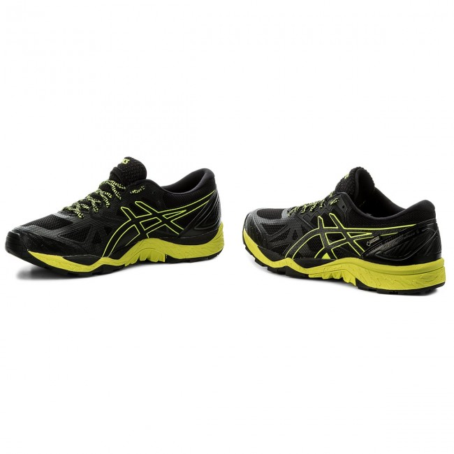 Schuhe G-TX ASICS-Gel-FujiTrabuco 6 G-TX Schuhe GORE-TEX T7F0N Black/Safety Yellow/Black 9089 60a10e