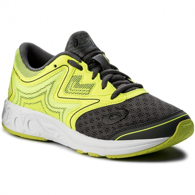 Schuhe ASICS Noosa Gs C711N Carbon/Safety Yellow/Mid Grey 9707