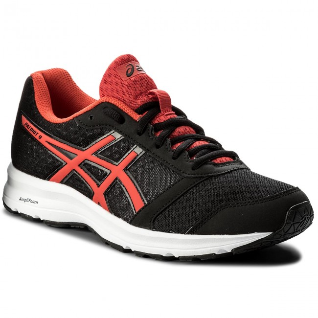 Schuhe ASICS-Patriot 9 T823N Black/Fiery Red/White 9023