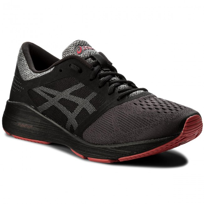 Schuhe ASICS-RoadHawk FF T7D2N Black/Carbon/Classic Red 9097