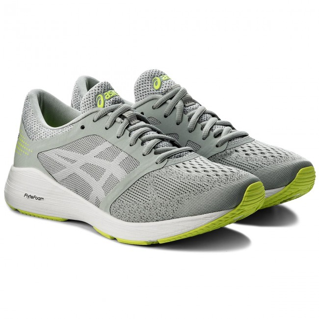Schuhe Schuhe Schuhe ASICS-RoadHawk FF T7D2N Mid Grey/White/Safety Yellow 9601 9b1f25