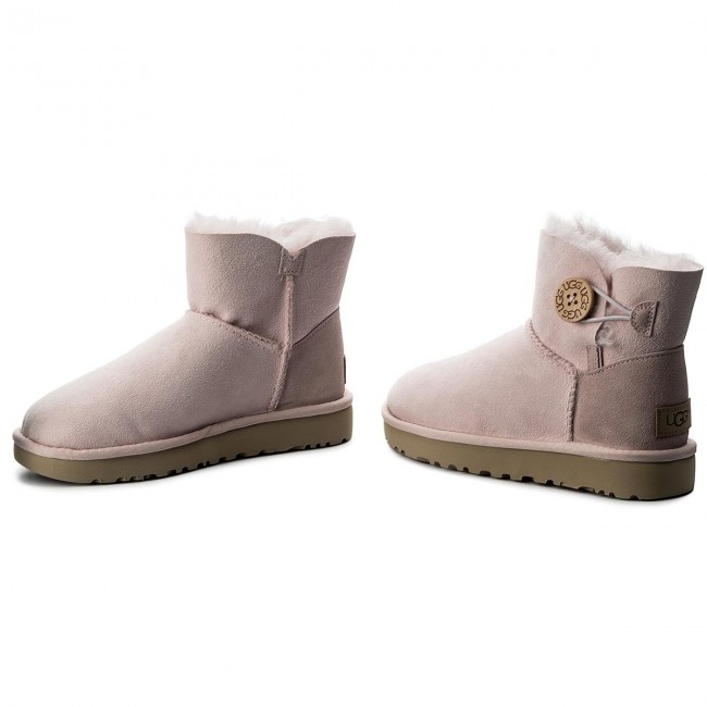 Schuhe UGG - W Bailey Button Poppy 1092294 W/Slpn vunJh3KOq