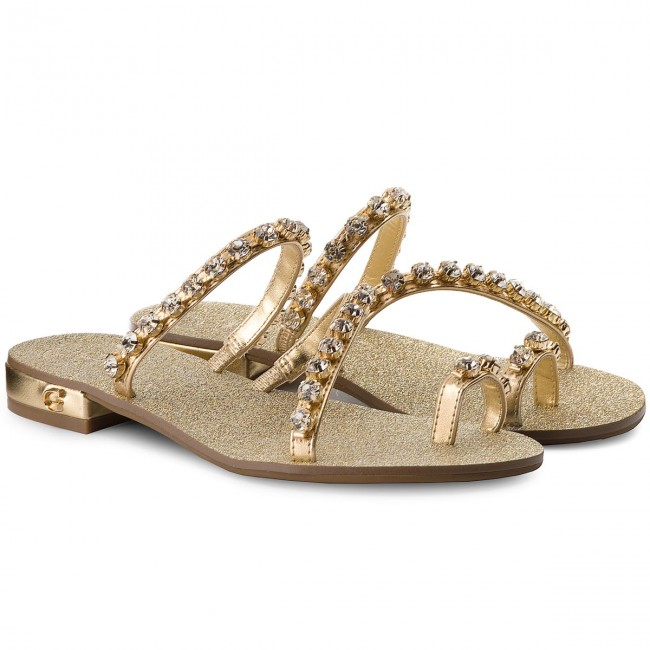Zehentrenner GUESS                                                      Fortina2 FLFT22 LEL03 GOLD 28cabe