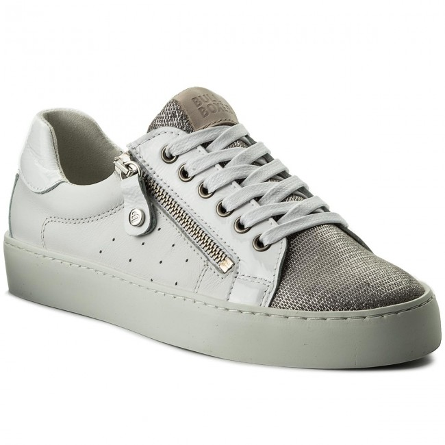Sneakers BULLBOXER 962006E5L WHITTD70 Silver/White/Beige Hohe Qualität