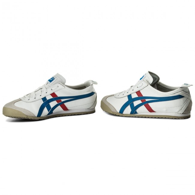 Sneakers ASICS                                                      ONITSUKA TIGER Mexico 66 DL408 Weiß/Blau 0146 8f2918