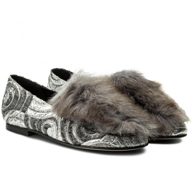 Lords Schuhe HEGO'S MILANO       MILANO                                               1027 Circles Argento/Fur Bianco 313a1b