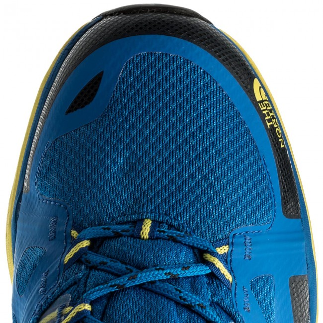 Trekkingschuhe THE NORTH FACE-Hedgehog Fastpack T92UX54DB Lite II Gtx GORE-TEX T92UX54DB Fastpack Blau Quartz/Blazing Yellow 0069e6