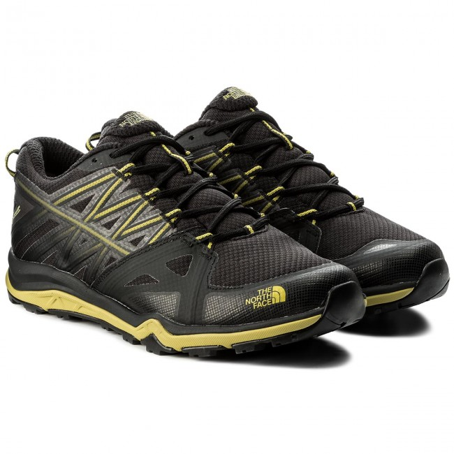 Trekkingschuhe THE NORTH GTX FACE-Hedgehog Fastpack Lite II GTX NORTH GORE-TEX T92UX5CIV Tnf schwarz/Citronelle Grün 350272