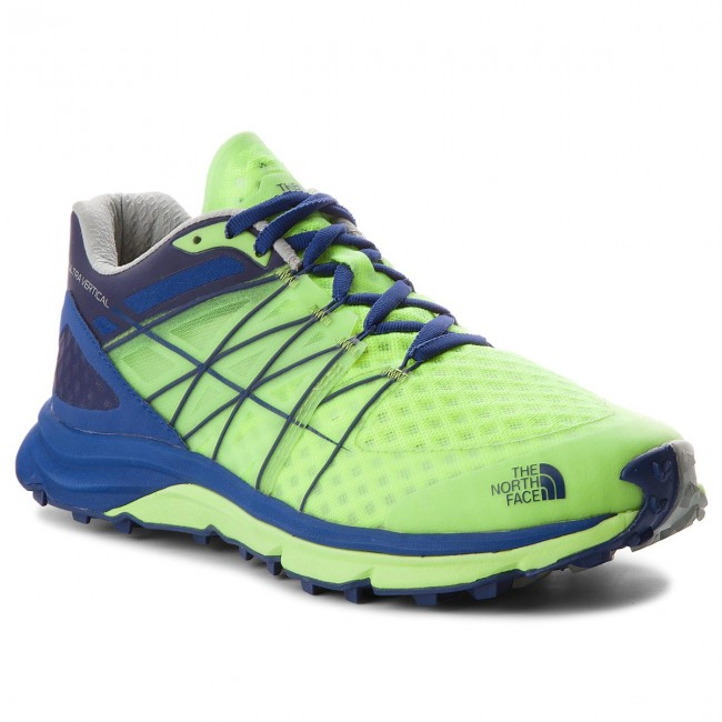 Schuhe Vertical THE NORTH FACE-Ultra Vertical Schuhe T92VVC4EL Dayglo Yellow/Brit Blue a1971f