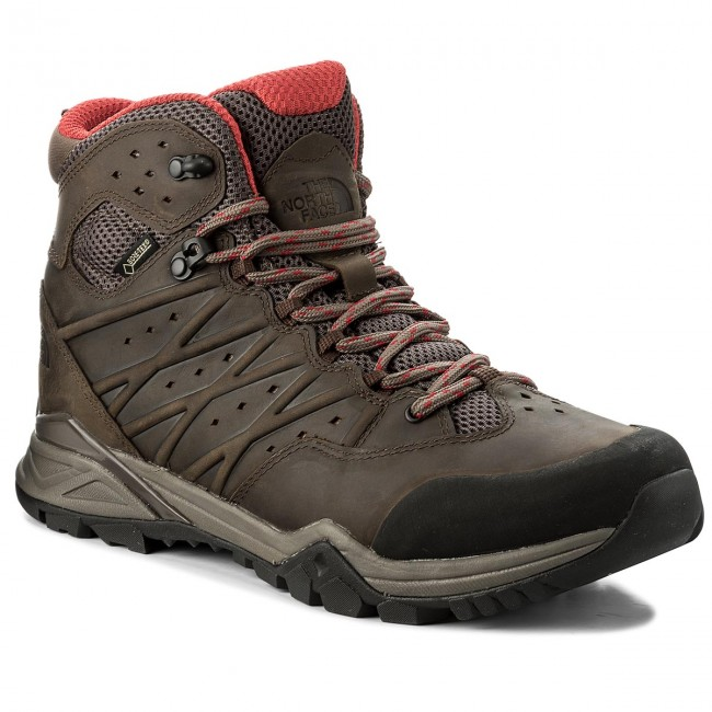 Trekkingschuhe THE NORTH FACE-Hedgehog Hike II Mid Gtx GORE-TEX NF0A2YB44DC Bonebrn/Ragered