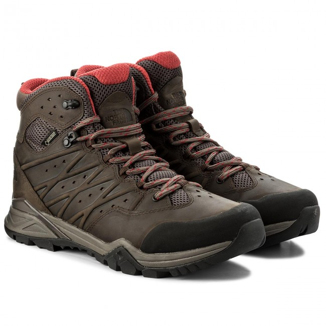 Trekkingschuhe THE Mid NORTH FACE-Hedgehog Hike II Mid THE Gtx GORE-TEX NF0A2YB44DC Bonebrn/RageROT 4c754f