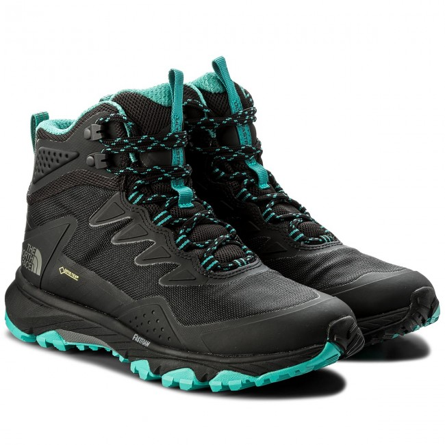 Trekkingschuhe THE NORTH FACE  Ultra GORE-TEX Fastpack Iii Mid Gtx GORE-TEX Ultra T939IT4HW Tnf Black/Porcelain Green 21f16f