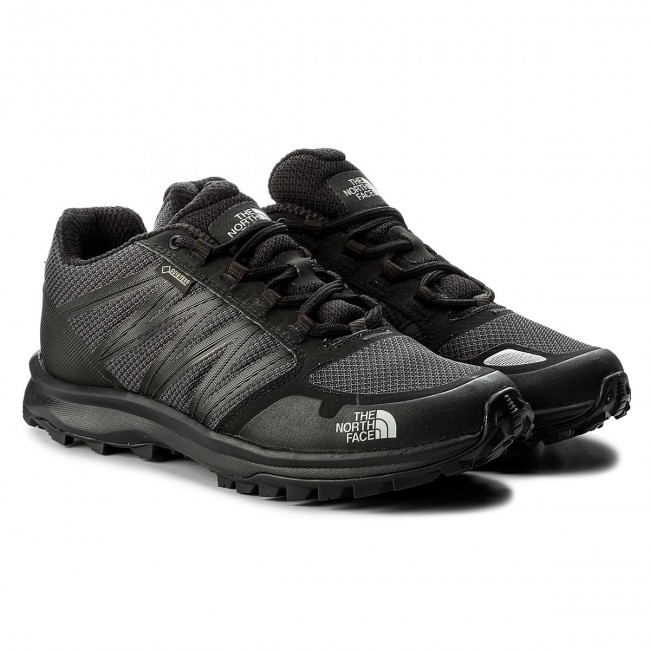 Trekkingschuhe THE NORTH FACE Litewave Fastpack Gtx GORE-TEX Rise T93FX5C4V Tnf schwarz/High Rise GORE-TEX Grau 802515