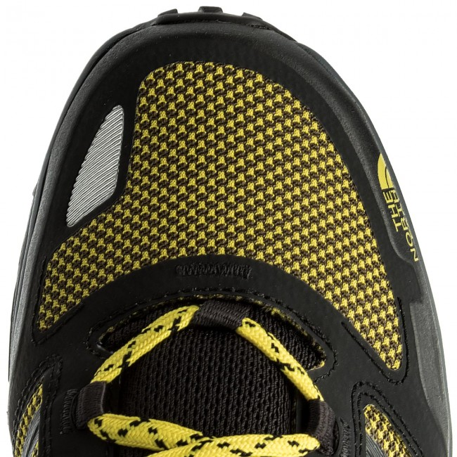 Trekkingschuhe THE NORTH schwarz/Blazing FACE-Litewave Fastpack T93FX6AFZ Tnf schwarz/Blazing NORTH Yellow 37e82e