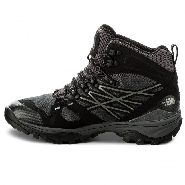 Trekkingschuhe Mid THE NORTH FACE-Hedgehog Fastpack Mid Trekkingschuhe Gtx (Eu) GORE-TEX NF0A3FXIZU5 Tnf schwarz/Dark Shadow Grau e30b2c