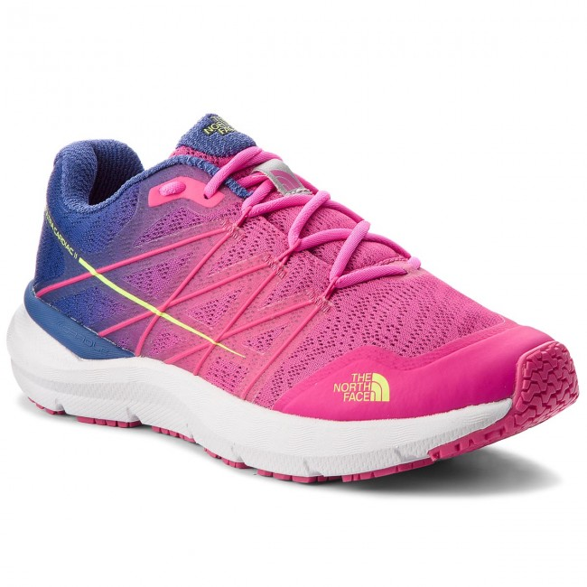 Schuhe THE NORTH FACE-Ultra Cardiac II T92VUW3TR Soldalite Blue/Glo Pink Werbe Schuhe