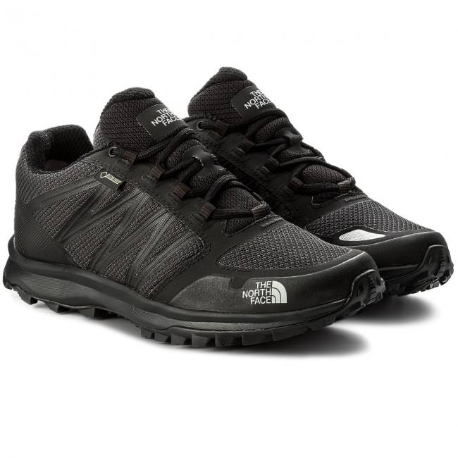 Trekkingschuhe THE Tnf NORTH FACE-Litewave Fastpack Gtx GORE-TEX T93FX4C4V Tnf THE schwarz/High Rise Grau d2d34c